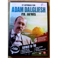 Et oppdrag for Adam Dalgliesh - P.D. James - Sesong 5 til 10 (DVD)