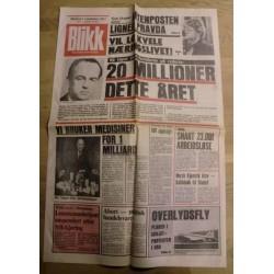 Blikk: Politisk Uavhengig - 2. november 1977 - Avis