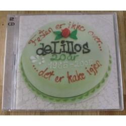 de Lillos: Festen er ikke over... det er kake igjen (CD)
