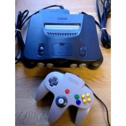 Nintendo 64: Komplett spillkonsoll