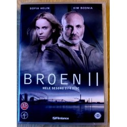 Broen II: Sesong 2 (DVD)