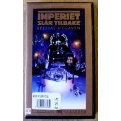 Star Wars: Imperiet slår tilbake (VHS)