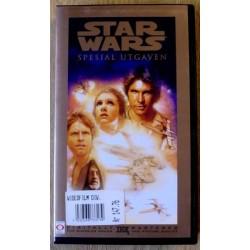 Star Wars: Spesialutgaven (VHS)