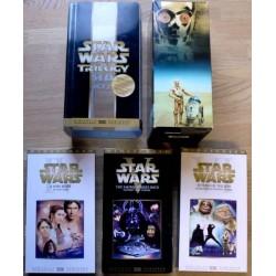 Star Wars Trilogy- Flott samleboks (VHS)