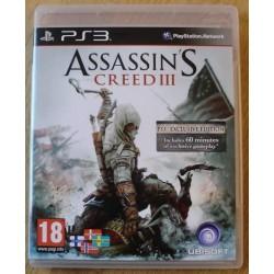 Playstation 3: Assassin's Creed III (Ubisoft)