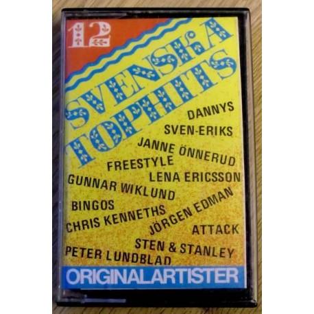 12 Svenska Tophits (kassett)
