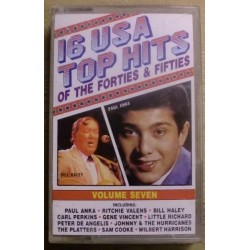 16 USA Top Hits of the Forties & Fifites (kassett)