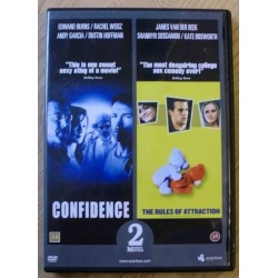 2 x DVD: Confidence og The Rules of Attraction (DVD)