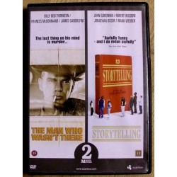 2 x DVD: The Man Who Wasn't There og Storytelling (DVD)
