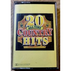20 All Time Country Hits (kassett)
