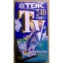 Nye VHS opptakskassetter