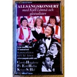 Allsångskonsert med Kjell Lönna (kassett)