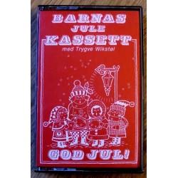 Barnas julekassett med Trygve Wikstøl (kassett)
