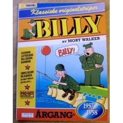 Billy - Klassiske originalstriper - Årgang 1957 - 1958