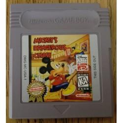 Game Boy: Mickey's Dangerous Chase (Disney)
