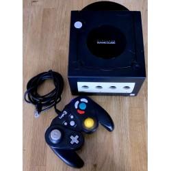 Nintendo GameCube: Komplett konsoll (sort)