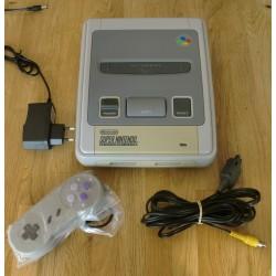 Super Nintendo: Komplett SNES konsoll