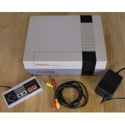 Nintendo NES: Komplett konsoll