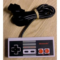 Nintendo NES: Original håndkontroll