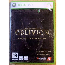 Xbox 360: The Elder Scrolls IV: Oblivion - Game of the Year Edition (Bethesda)