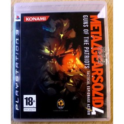 Playstation 3: Metal Gear Solid 4: Gunst of the Patriots (Konami)