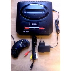 SEGA Mega Drive II - Konsoll med utstyr - Pakke 1