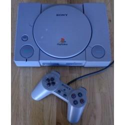 Playstation 1: Komplett konsoll (chippet)