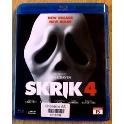Skrik 4 (Blu-ray)
