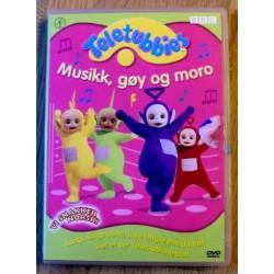 Teletubbies - Musikk, gøy og moro (DVD)