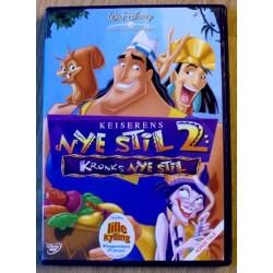 Keiserens nye stil 2: Kronks nye stil (DVD)