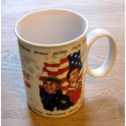 PP krus - Fotball VM 1994 USA - Med Drillo og Bratseth