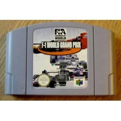 Nintendo 64: F-1 World Grand Prix (cartridge)