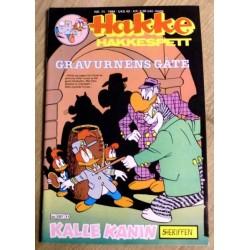 Hakke Hakkespett: 1984 - Nr. 11 - Gravurnens gåte