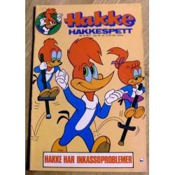 Hakke Hakkespett: 1977 - Nr. 4 - Hakke har inkassoproblemer