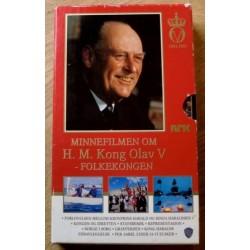 Minnefilmen om H. M. Kong Olav V - Folkekongen (VHS)