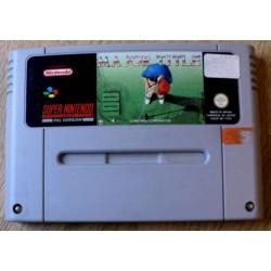 Super Nintendo: Major Title