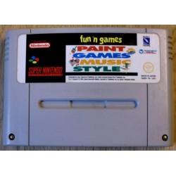 Super Nintendo: Fun N Games