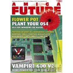 Datablad: Amiga Future: Mai/Juni 2017 - Nr. 126 med CD