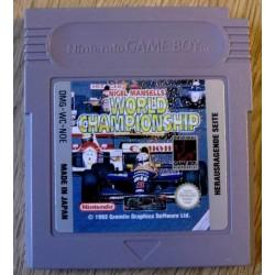 Game Boy: Nigel Mansell's World Championship