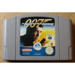 Nintendo 64: 007 The World Is Not Enough (EA Games)