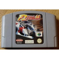 Nintendo 64: F1 Pole Position 64 (Ubi Soft)