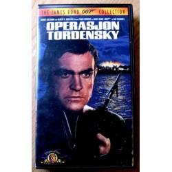 James Bond 007: Operasjon Tordensky (VHS)