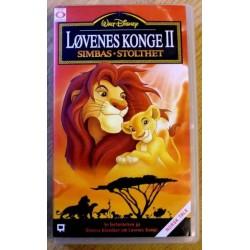 Løvenes Konge II: Simbas Stolthet (VHS)