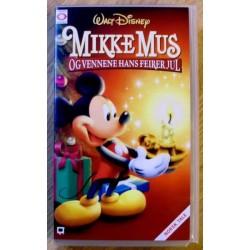 Mikke Mus og vennene hans feirer jul (VHS)