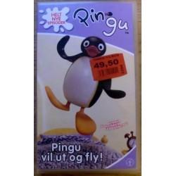 Pingu vil ut og fly! (VHS)
