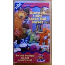 Bjørnen i det Store Blå Huset (VHS)