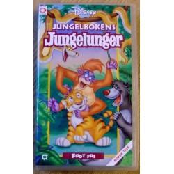 Jungelbokens Jungelunger: Født fri (VHS)