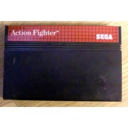 SEGA Master System: Action Fighter - Cartridge