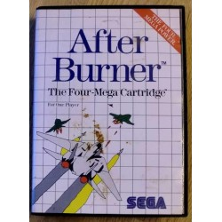 SEGA Master System: After Burner - The Four-Mega Cartridge