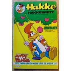 Hakke Hakkespett: 1981 - Nr. 4 - Jernbanen